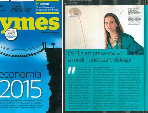 "PYMES Magazine – Of ""The company is me"" to measure, prioritize and delegate."
