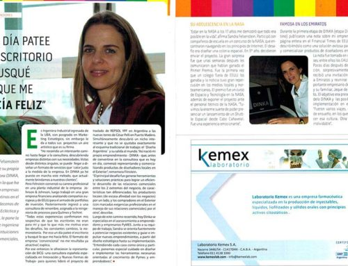 Prensa Económica Magazine – One day I kicked the desk and looked for what made me happy.