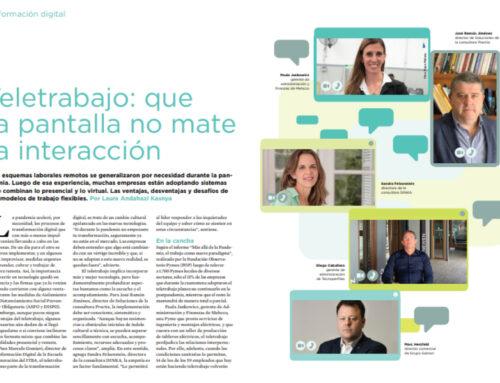 Revista INNOVACIÓN – Teletrabajo: que la pantalla no mate la interacción.
